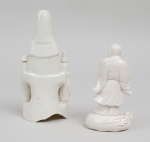 Chinese Dehua Procelain Figure of Guanyin
