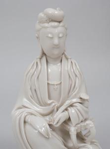 Chinese Dehua Porcelain Figure of Guanyin