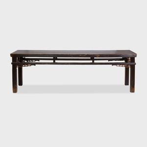 Chinese Ebonized Softwood Long Scroll Table