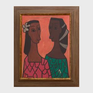 Cundo Bermúdez (1914-2008):  Dos Mujeres