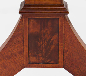 Pair of Federal Style Mahogany Trestle Tables, Late 20th Century