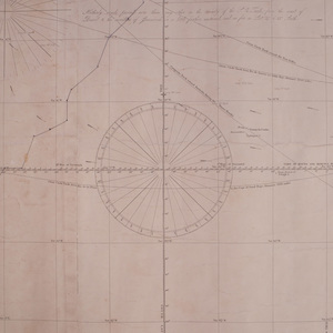 Two Blue Book Nautical Maps: South Atlantic Ocean; and South Pacific Ocean