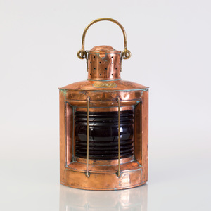 Copper Ship's Port Lantern
