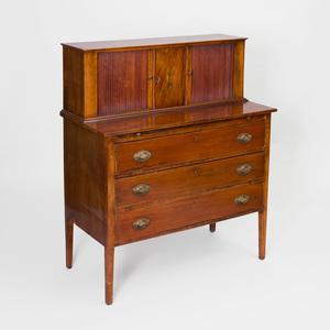 Federal Inlaid Mahogany Lady's Desk