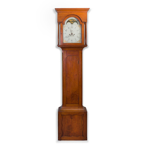 Chippendale Walnut Longcase Clock