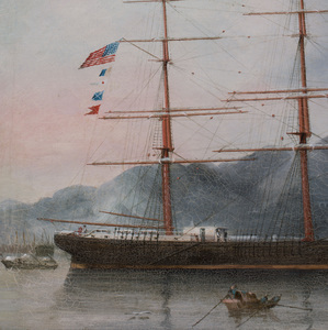 Chinese Export School: Clipper Ship