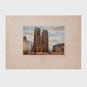 French School: Paris et ses Environs: Eleven Plates