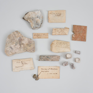 Group of Grand Tour Stone And Marble Artifacts