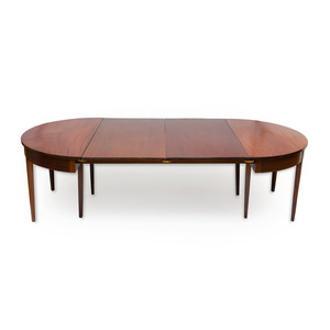 Federal Inlaid Mahogany Dining Table