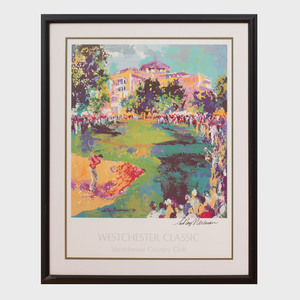After LeRoy Neiman (1921-2012): Westchester Classic