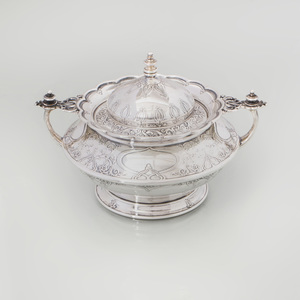 Tiffany Silver Sugar Bowl and Cover