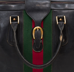 Gucci Leather Suitcase and a T. Anthony Suitcase