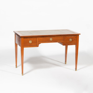 Continental Neoclassical Style Fruitwood Desk