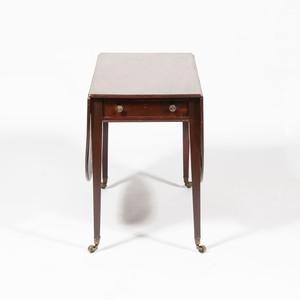 George III Style Mahogany Drop-Leaf Table