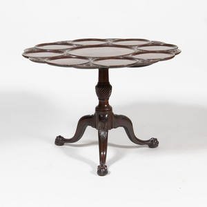 George III Style Mahogany Supper Table