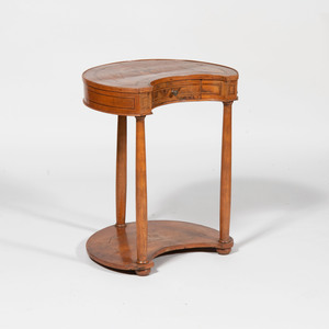 Continental Neoclassical Fruitwood and Kingwood Parquetry Table