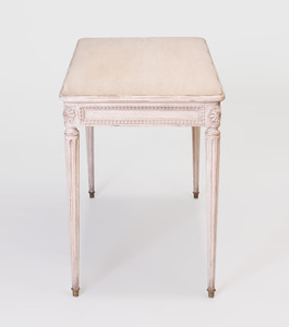 Louis XVI Style White Painted Desk