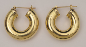 GROUP OF SIX GOLD EAR CLIPS