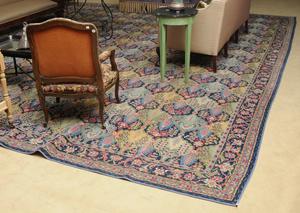 Machine-Woven Persian Style Carpet