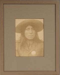 AMERICAN SCHOOL: (C. 1900): APACHE POLICEMAN, ARIZONA