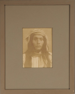AMERICAN SCHOOL (C. 1900): APACHE INDIAN AND SQUAW PORTRAITS