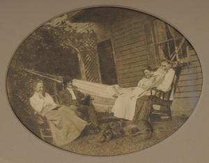 AMERICAN SCHOOL (C. 1911): FAMILY RELAXING