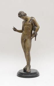 FIGURE OF NARCISSUS, AFTER THE ANTIQUE