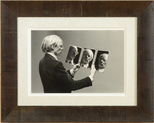 PHILIPPE MORILLON (b. 1950): ANDY WARHOL