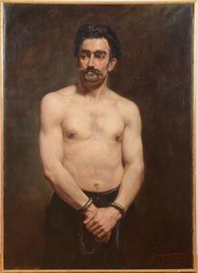 MÉDARD TYTGAT (1871-1948): IN HANDCUFFS