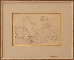 ARISTIDE MAILLOL (1861-1944): LAVEUSE (GUÉRIN 259)