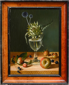 FRENCH SCHOOL: STILL LIFE WITH ARTICHOKE AND THISTLE