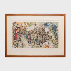 Marc Chagall (1887-1985): The Story of Exodus: One Plate