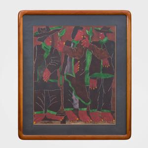 Javier Arévalo (b. 1937): Three Figures