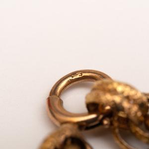 Two Antique 14k Gold Chain Necklaces