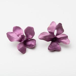 Pair of JAR Titanium Violet Earclips