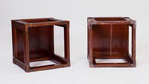 Pair of Small Mahogany Side Tables