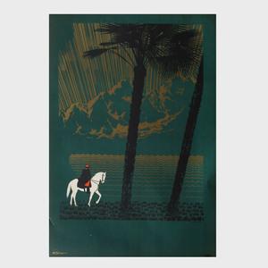 Nikolay Nikolaevich Zhukov (1908-1973): Horse and Rider