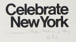 Richard Anuszkiewicz (b. 1930): Celebrate New York