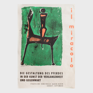 Marino Marini (1901-1980): Il Miracolo