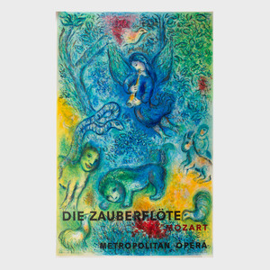 Marc Chagall (1887-1985): Die Zauberflöte