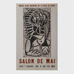 Two Picasso Exhibition Posters
