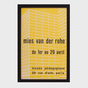 Mies Van Der Rohe Poster