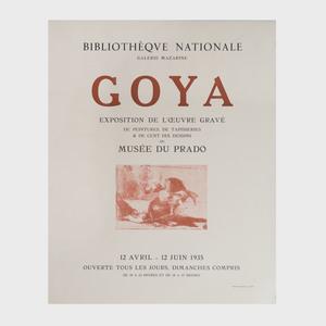 Three Goya Posters