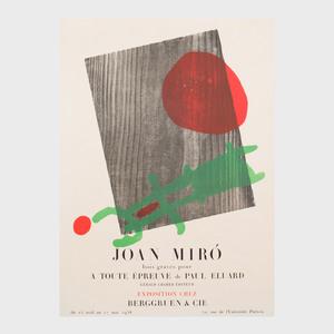 Four Galerie Berggruen Exhibition Posters
