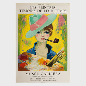 Four French Exhibition Posters