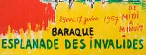 Two Bernard Lorjou Posters