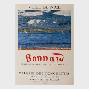 Three Pierre Bonnard Posters