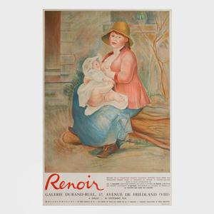 Four Pierre-Auguste Renoir Posters
