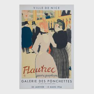 Four Henri de Toulouse-Lautrec Posters