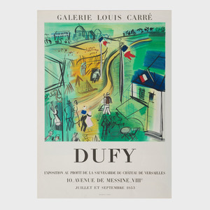 Three Raoul Dufy Exhibition Posters